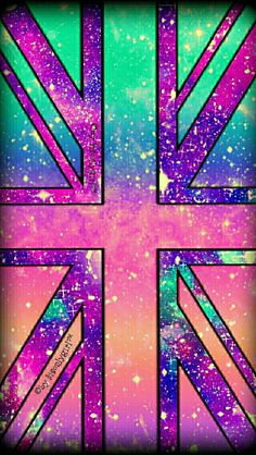 Colorful British flag galaxy wallpaper I created for the app CocoPPa! Cross Wallpaper, Sparkle Wallpaper, Wallpaper Quotes, Galaxy Photos, Galaxy Pictures, Cocoppa Wallpaper, Galaxy Wallpaper, Cool Backgrounds, Wallpaper Backgrounds