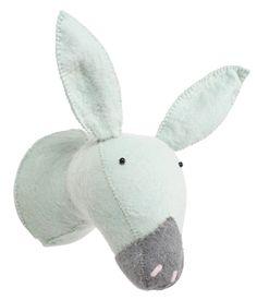Kidsdepot muurdecoratie donkey Zoo mint