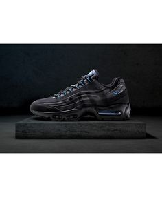 4096823ae677e 18 Best nike air max 95 black images | Athletic shoe, Athletic wear ...