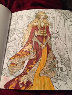 Game Of Thrones Coloring Book Children The Forest