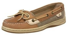 Sperry top siders I swear by Sperry top siders (I have the bluefish, angelfish AND their boot) for anytime I need to walk a lot and can't have my feet hurting. - Julianne Rains