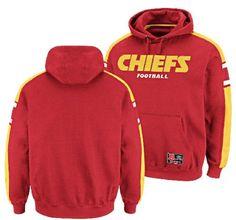 618b5cc590b Kansas City Chiefs Passing Game III Hooded Sweatshirt by Majestic (L 44) VF