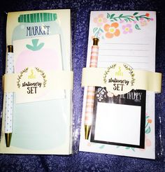 3 piece stationery set from Target dollar spot- March 2016