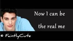 Adam DiMarco - Now I Can Be the Real Me - Lyrics