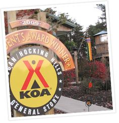 Photos of the Logan / Hocking Hills KOA Campground in Ohio
