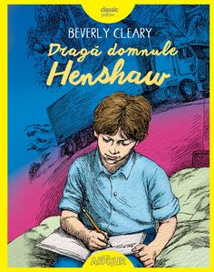 Dragă domnule Henshaw Beverly Cleary, Books To Read, Comic Books, Baseball Cards, Comics, Reading, Classic, Movie Posters, Fictional Characters
