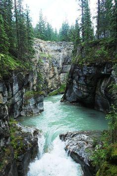 Maligne Canyon, Jasper   Alberta, Canadá