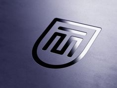 Logo concept for financial consultant MT.