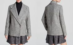 Theory Lianamar Melange Coat - Bloomingdale's Exclusive