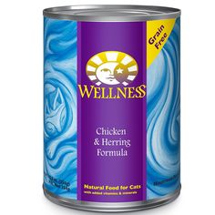 Wellness Complete Health Natural Wet Canned Cat Food ** Visit the image link more details.