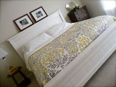 Ana White | Build a Farmhouse King Bed Plans | Free and Easy DIY Project and Furniture Plans