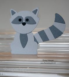Critter Mania Using the Fox Builder Punch from Stampin Up! Episode #3 - ...