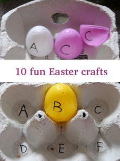 10 fun Easter crafts for pre-school kids – Zagura