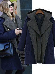 6cc94e7da48 Click to Buy    Free shipping elegant women winter wool coats plus ...