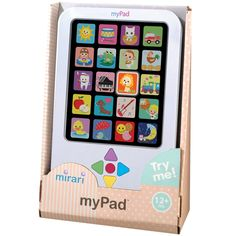 Let baby play like their parents with Patch's Mirari myPad®