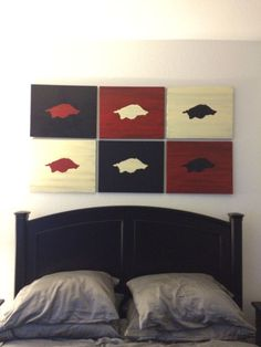 Razorback for the boyfriend's room. I CANNOT wait until he gets a new apartment.