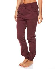 ALL ABOUT EVE VICE CHINO PANT - BURGANDY on http://www.surfstitch.com - want these!