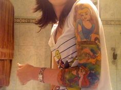 Disney sleeve :)