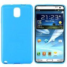 Capa Galaxy Note 3 - Gel Azul  R$21,92