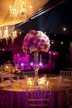 October Flowers, Chandelier, Ceiling Lights, Weddings, Home Decor, Wedding, Candelabra, Decoration Home, Room Decor