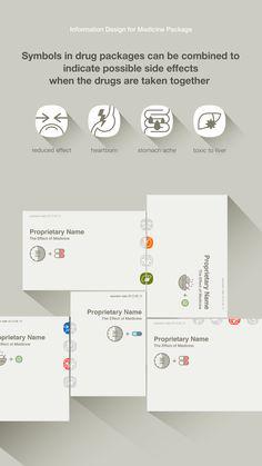 medicine package design, information pattern, good idea,#information