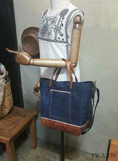 청바지리폼 북 데님 숄더백 : 네이버 블로그 Denim, Kitchen, Totes, Dressmaking, Accessories, Jeans