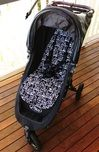 How the pram liner fits the City Mini