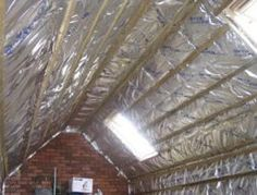 How to insulate a roof. Because let's face it, all the cleverly build solar panels are going to help jack-sh*t if your house is not well insulated