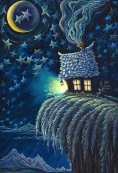By rsd morning light, good morning, inner child, fantasy artwork, art life Art Et Illustration, Illustrations, Good Night Moon, Moon Magic, Beautiful Moon, Wow Art, Fantasy Artwork, Sun And Stars, Whimsical Art