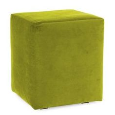 Howard Elliott Mojo Kiwi Universal Cube Ottomans