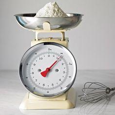 Retro Look Kitchen Scales :)
