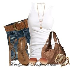 I love a white tank casual outfit. Looks great & simple. Summer Wear, Spring Summer Fashion, Summer Outfits, Casual Outfits, Cute Outfits, Casual Summer, Summer Time, Summer Fun, Casual Shirt
