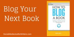 How to #blog a #book