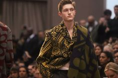 Burberry's Menswear Autumn/Winter 2014 collection is one of their most innovative we think! http://www.luxuryfacts.com/index.php/sections/article/3916
