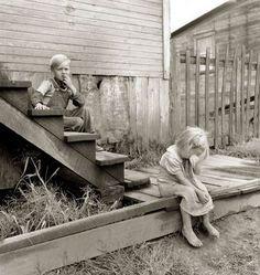 Coal miner's children in West Virginia 1939