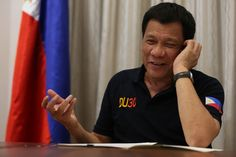 Philippine President Rodrigo Duterte offered to China the chance for one of its firms to be the major telecommunications company in the Philippines with the goal of ending the duopoly in the vital industry. Rodrigo Duterte, Donald Trump, Democracy And Human Rights, Philippine News, Lifestyle News, Vows, Decir No, Philippines, Drugs