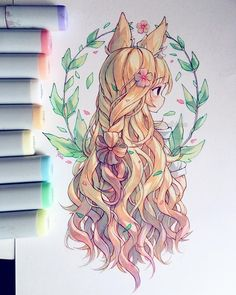 Yoai anny cicishu on hair happy easter weekend ahaha i m finally free sorry but i ve been super busy this week btw i ve been wondering does anyone artisanats de pques qui sont heureux de l hippie hike n dip artisanats dip heureux hike pques qui Anime Drawings Sketches, Cool Art Drawings, Anime Sketch, Kawaii Drawings, Arte Copic, Copic Art, Anime Art Girl, Manga Art, Arte Sketchbook
