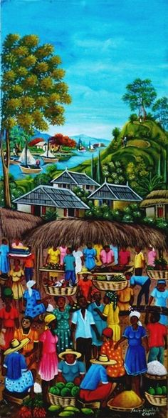 Carrie Art Gallery - Jn Baptiste Chery - 2808, USD300.00 (http://www.carrieartgallery.com/jn-baptiste-chery-2808/)