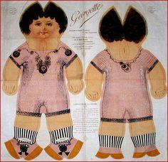 Gerardin doll. Circa 1922.