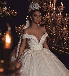 21 Fairytale Wedding Dresses of Your Dreams – weddingtopia - Bridesmaid Dresses Princess Wedding Dresses, Dream Wedding Dresses, Bridal Dresses, Wedding Gowns, Bridesmaid Dresses, Wedding Outfits, Dramatic Wedding Dresses, Extravagant Wedding Dresses, Wedding Ceremony