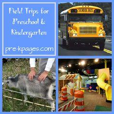 Field trip ideas for #preschool and #kindergarten via www.pre-kpages.com