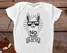 Funny Baby Onesies®, Llama Onesie®, Farm Onesie®, Llama Baby Clothes, Country Baby, Baby Shower Gift, Onesies® for girls, Onesies® for Boys