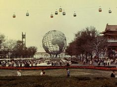 The Unisphere ; 1964 World's Fair; New York City 
