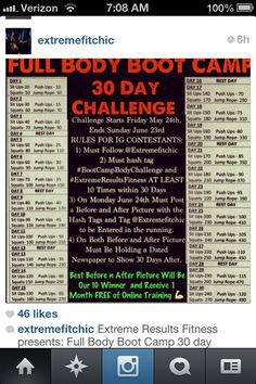 39 day fitness challenge...May be a little late but doesn't mean I can't do it