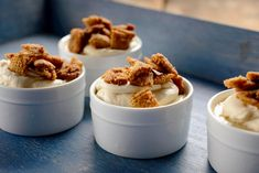 Caramel Budino With Chex Topping Recipe - NYT Cooking