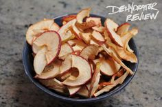 P2: Crispy, dehydrated apple chips!
