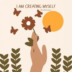 """Lou on Instagram: """"'I am creating myself.' Prints and other products available via link in bio or directly from the highlights!"""" Artist Names, Highlights, Create, Prints, Illustrations, Instagram, Link, Home Decor, Products"""