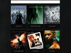 A site for ideas of movies to watch in one click