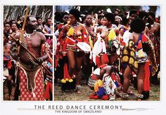 The Reed Dance Ceremony from Swaziland ~
