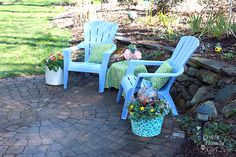 Upcycling+Ideas+Plants+Gardens | ... ideas? Check out Lowe's Creative Ideas for free ideas and plans